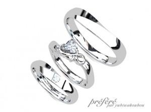 結婚指輪オーダー,婚約指輪オーダー,セットリング