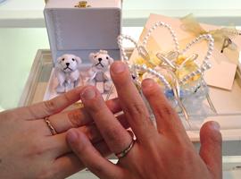 結婚指輪オーダー リボンモチーフ,結婚指輪オーダー メッセージ
