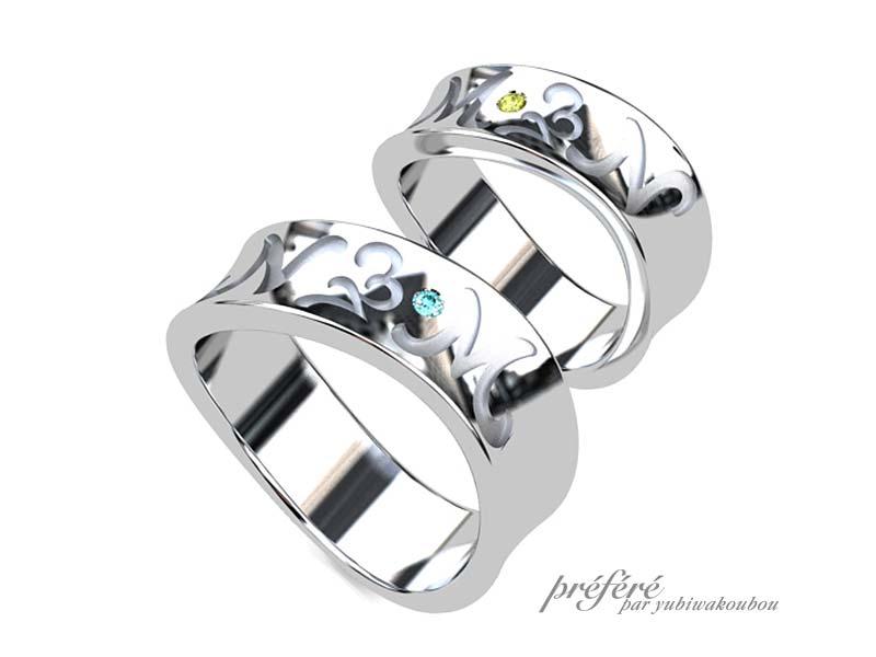 結婚22年の記念に2個目の結婚指輪をオーダーメイド