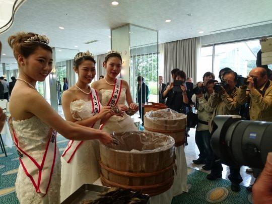 真珠供養祭♡ミス伊勢志摩