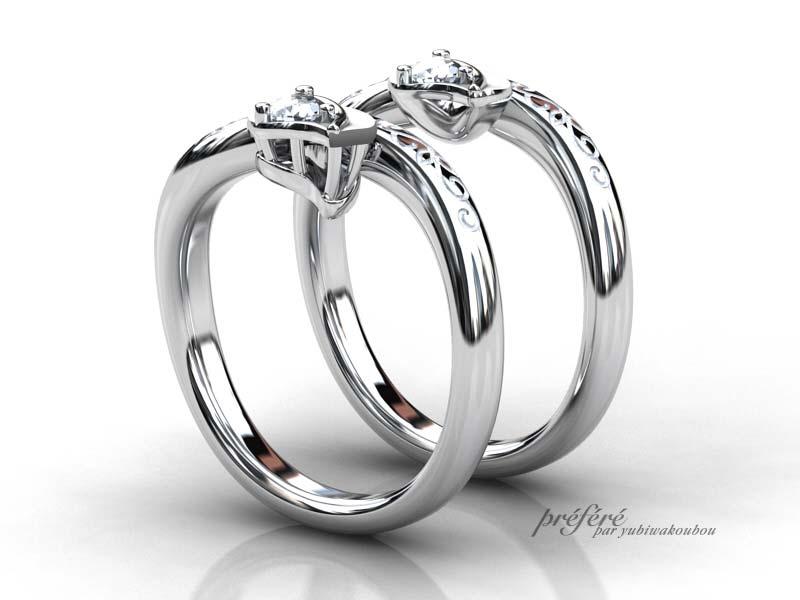 ジブリが大好きな婚約指輪