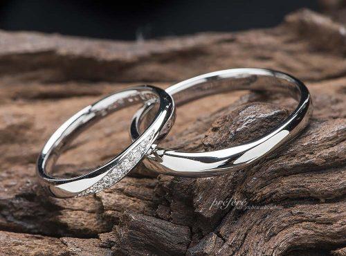 華奢な結婚指輪