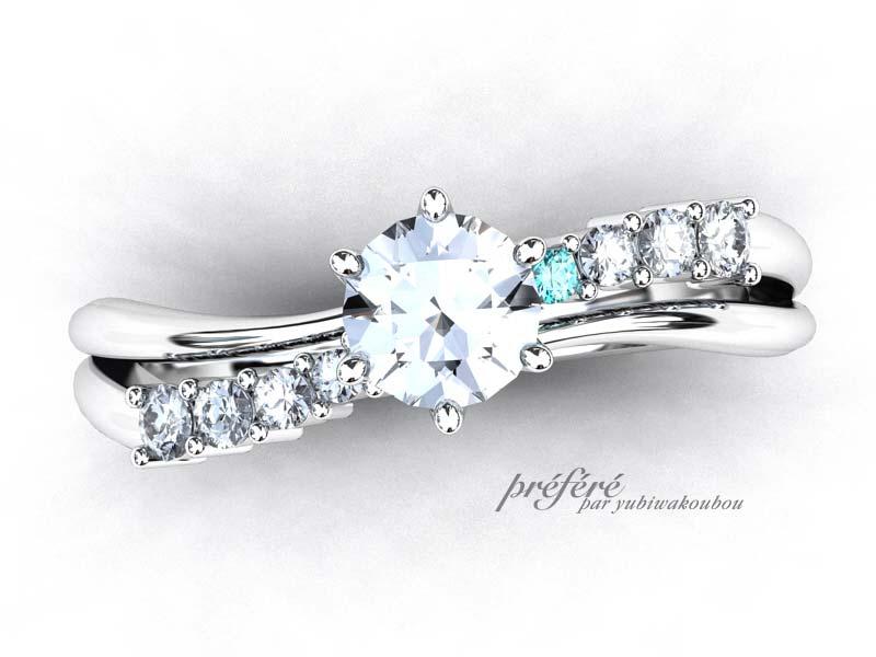 紛失した婚約指輪のイメージ
