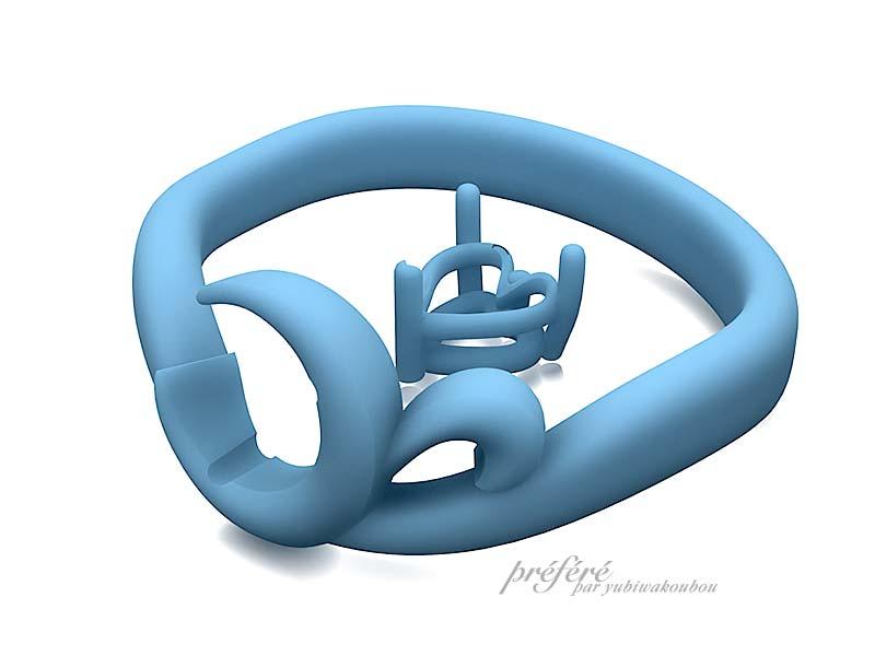 ハートのルビーを入れた 婚約指輪オーダー,婚約指輪オーダー プロポーズ
