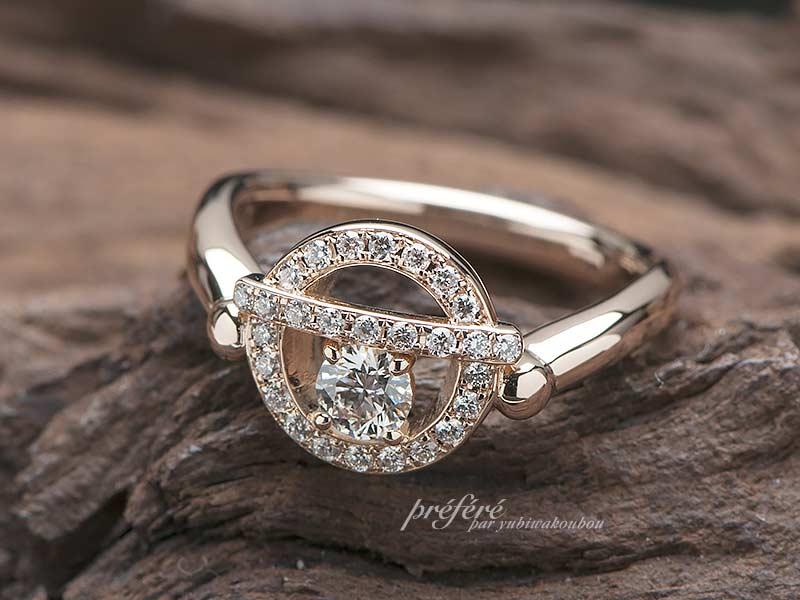 ドラえもんの鈴、婚約指輪オーダーメイド