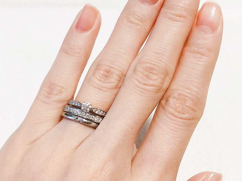 婚約指輪と結婚指輪とエタニティリング