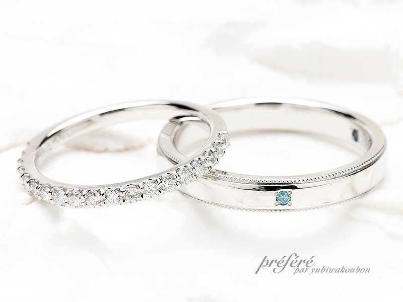 結婚指輪のデザインはエタニティリング