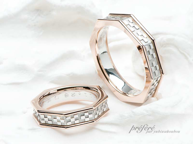 予算35万円~のフルオーダー結婚指輪