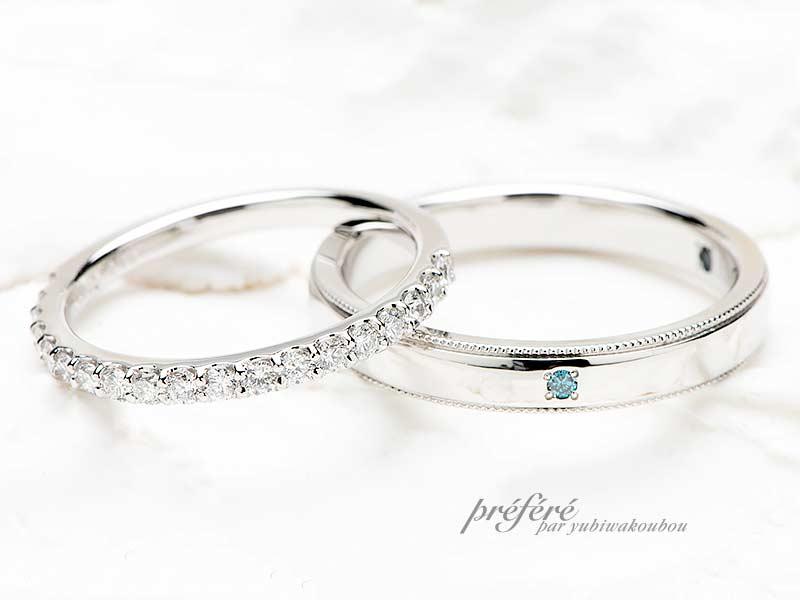 ペア20~25万円のセミオーダー結婚指輪