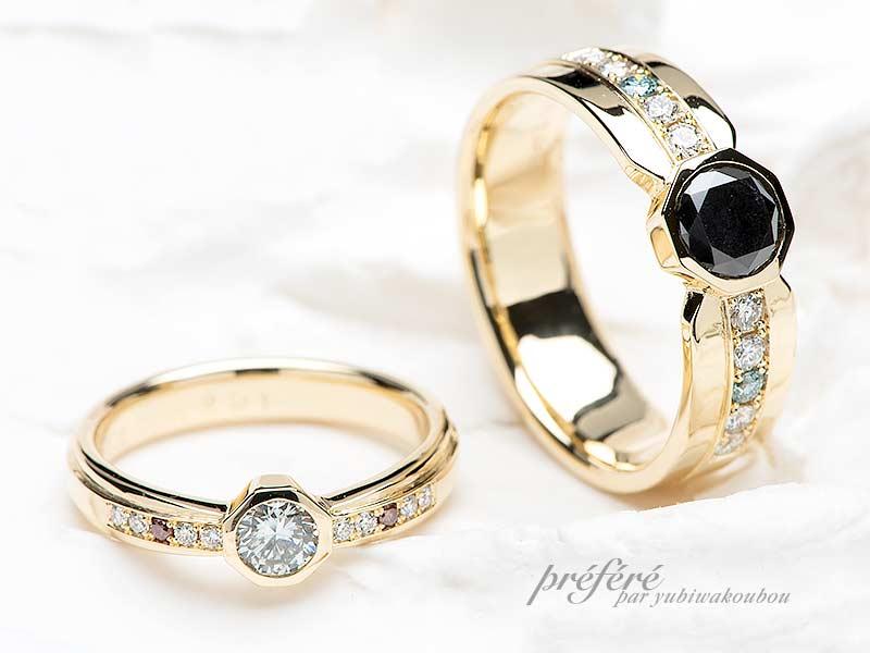 予算40万円~のフルオーダー結婚指輪
