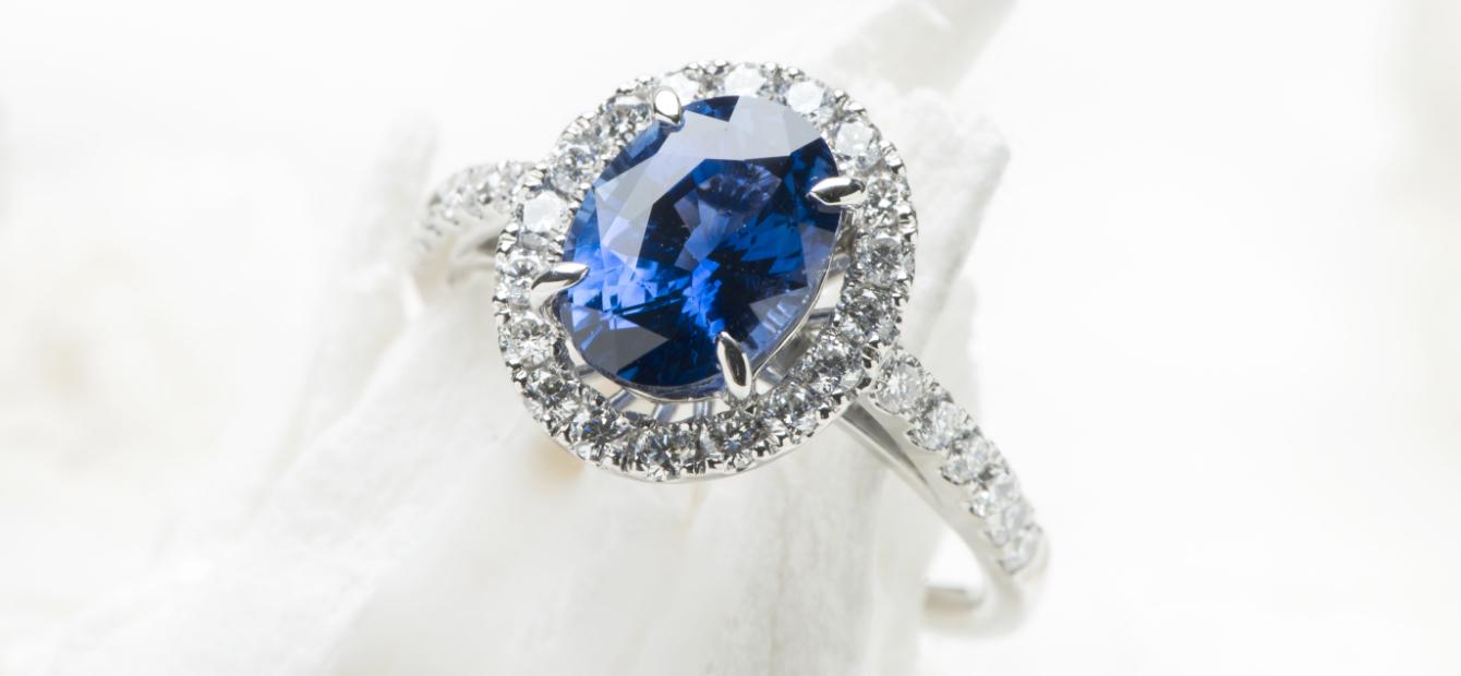 洗浄された指輪の画像