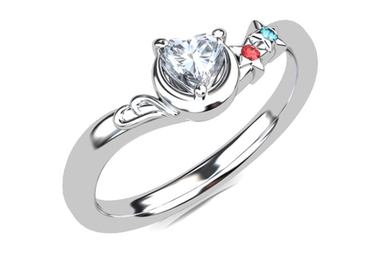 指輪のイメージCG