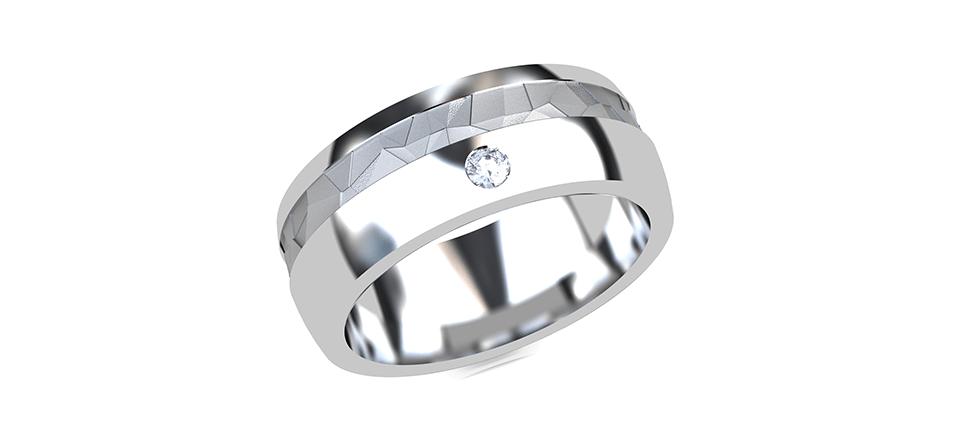 指輪のCG画像