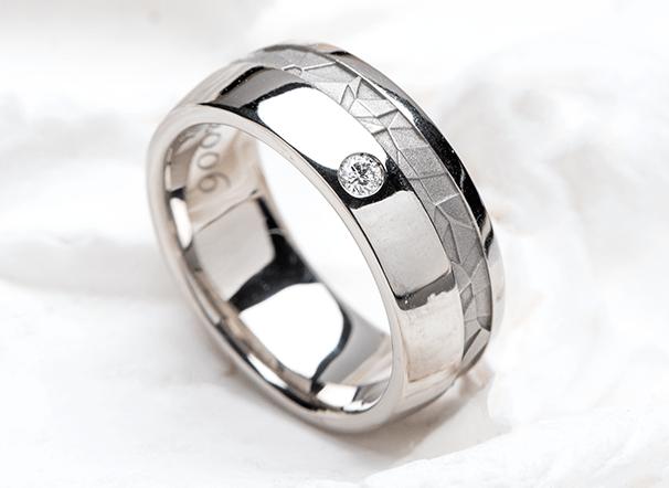 同じデザインでお創りした指輪の画像
