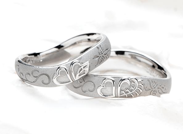 結婚指輪の作品例