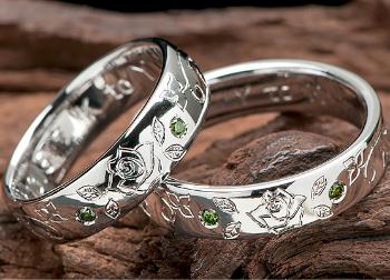 手彫り感覚の指輪の画像