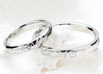 プラチナ900の指輪の画像