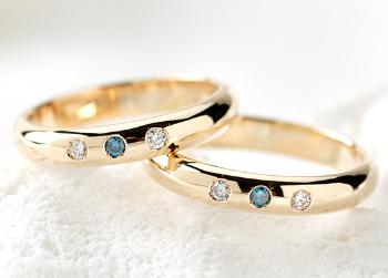 K18 イエローゴールドの指輪の画像