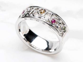 結婚記念指輪の画像