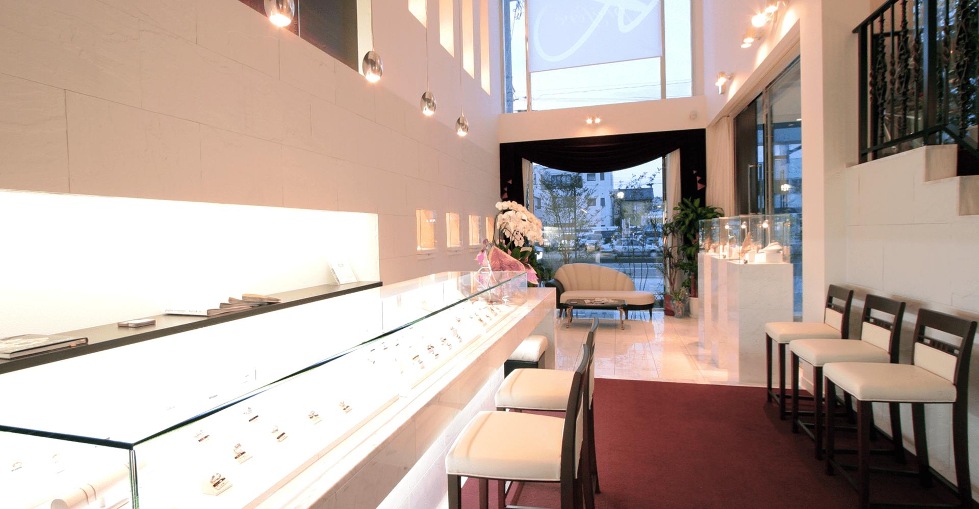 店舗の内観の画像