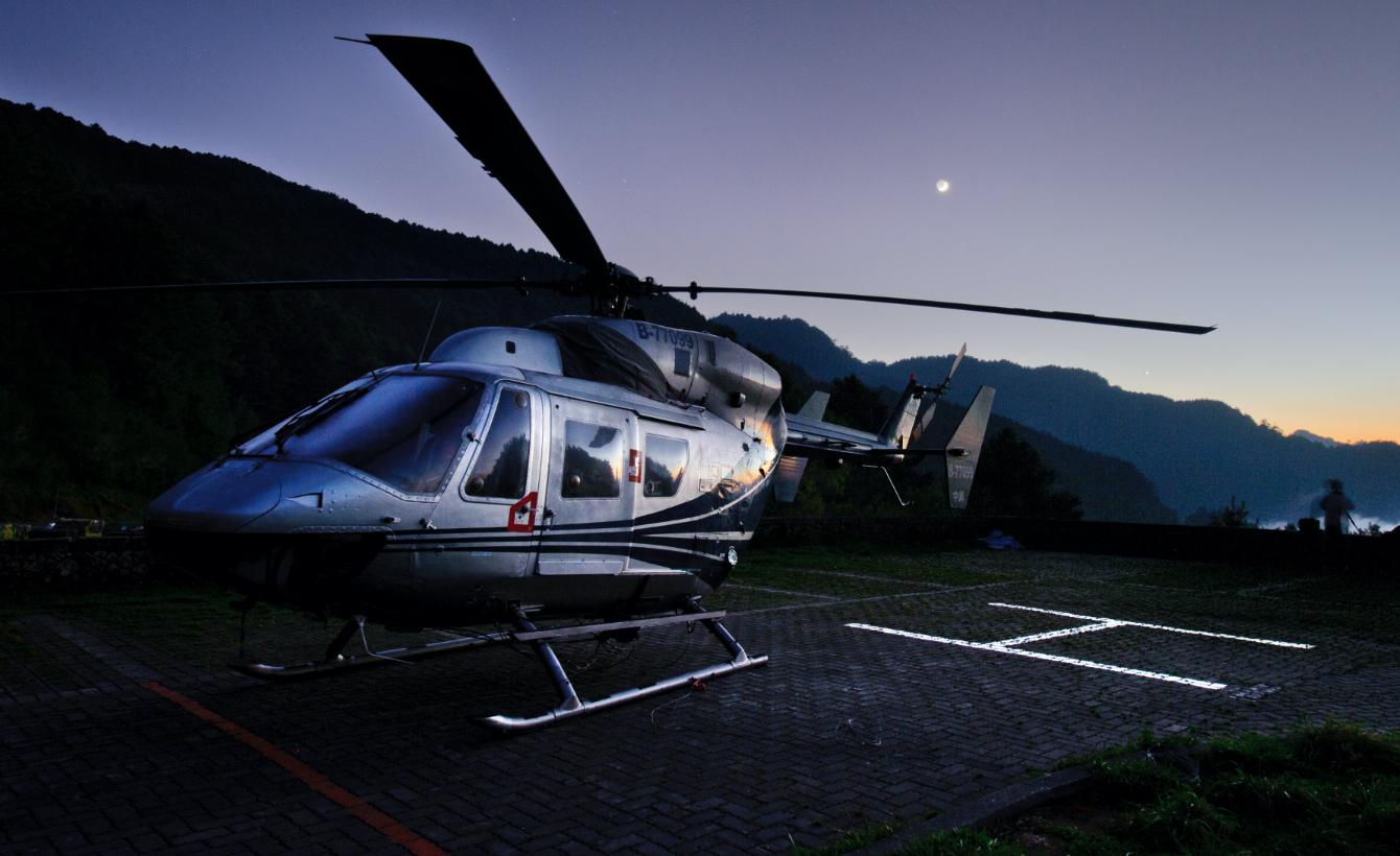 ヘリコプターの画像