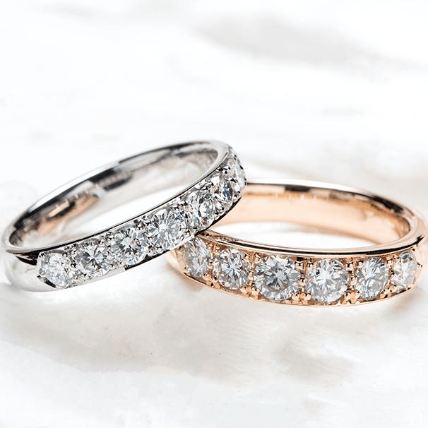 スイートテン ダイヤモンドの指輪