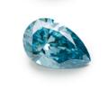 ブルーペアシェイプダイヤの画像