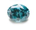 ブルーオーバルダイヤの画像