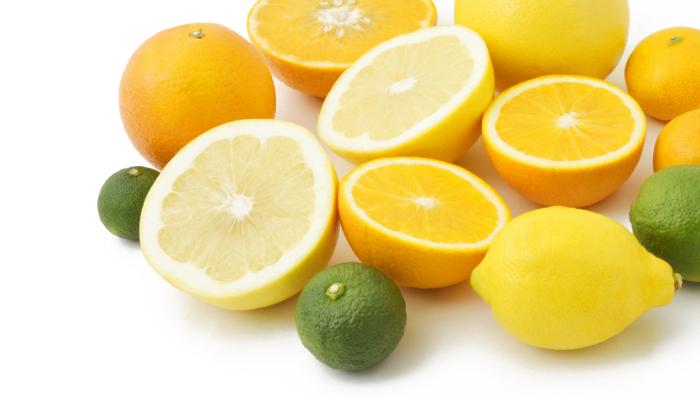 柑橘系のフルーツの画像