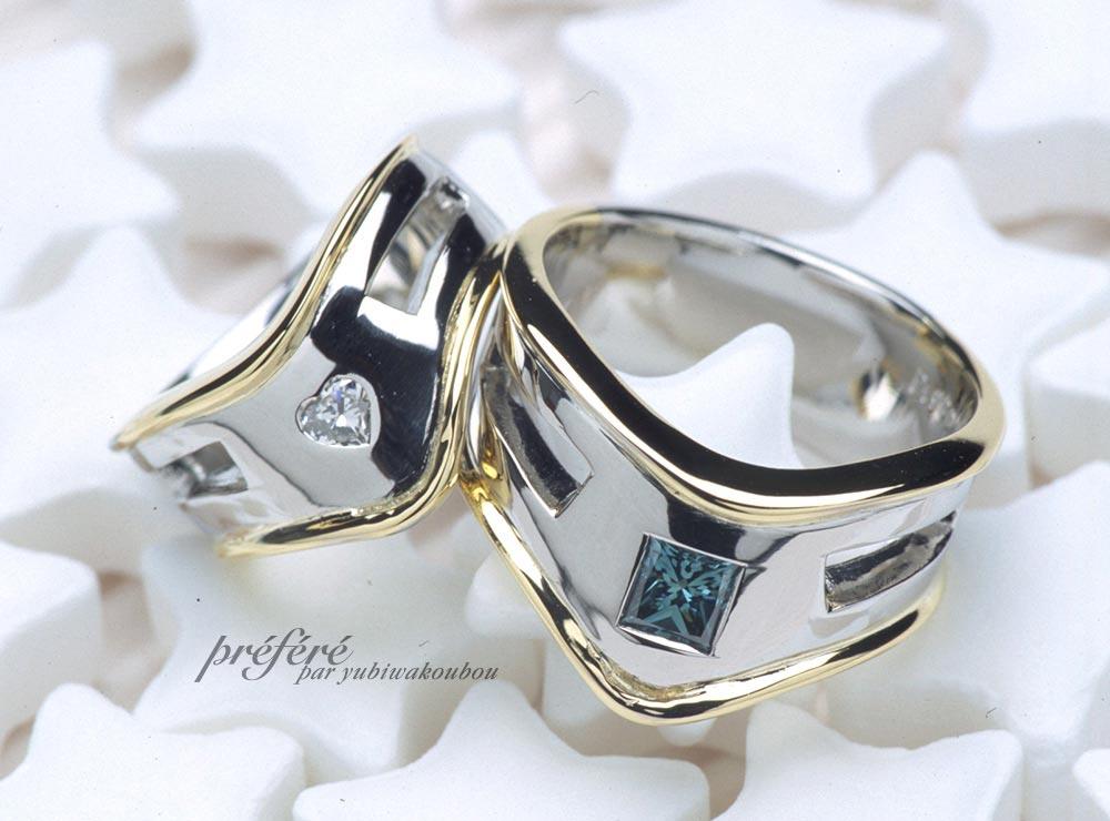 結婚指輪はピンキーリングでオーダーメイド