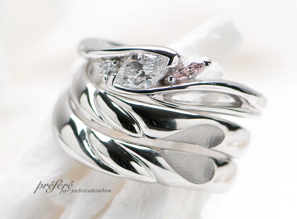 セットリング 婚約指輪オーダー