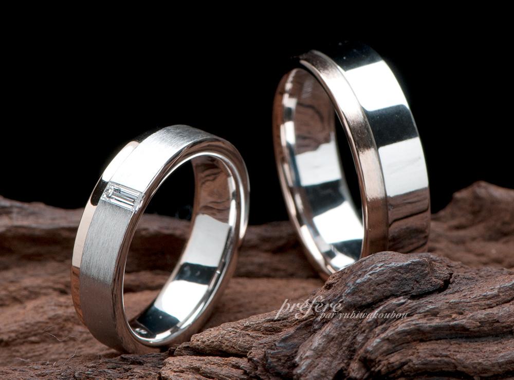 バケットダイヤ 結婚指輪オーダー