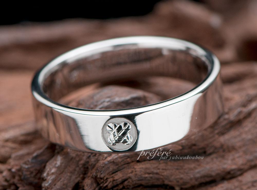 家紋 結婚指輪オーダー