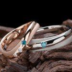 七夕の想いを込めたクロス形状の結婚指輪オーダー