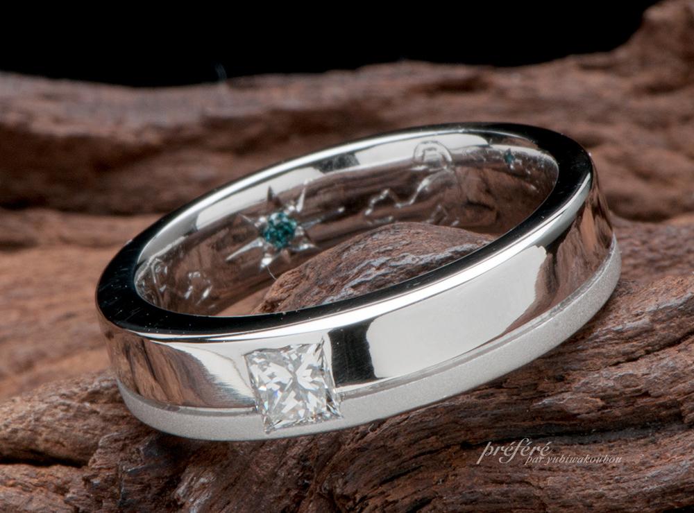 プリンセスダイヤ 婚約指輪オーダー,ネコ 婚約指輪オーダー
