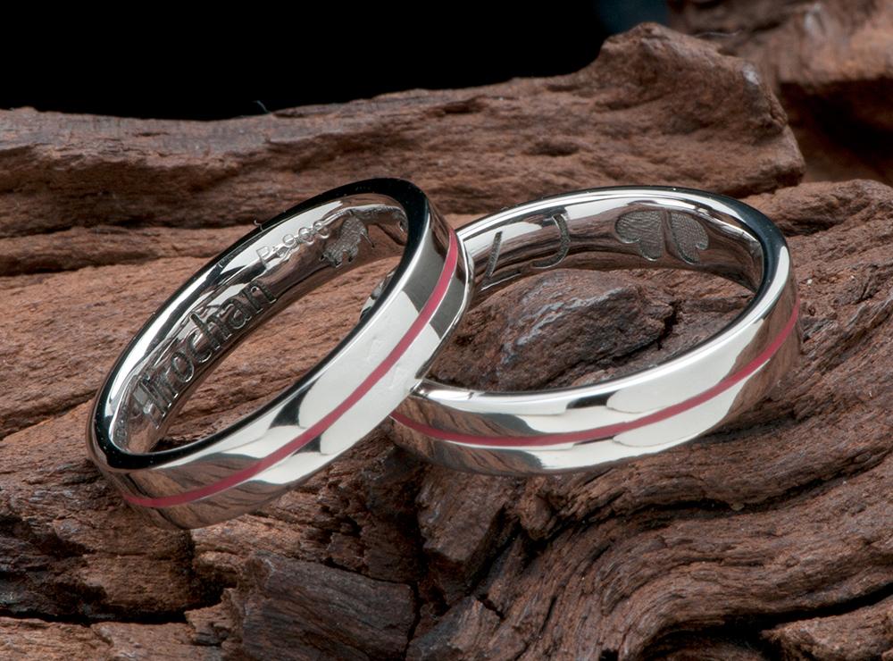 ピンク 結婚指輪オーダー