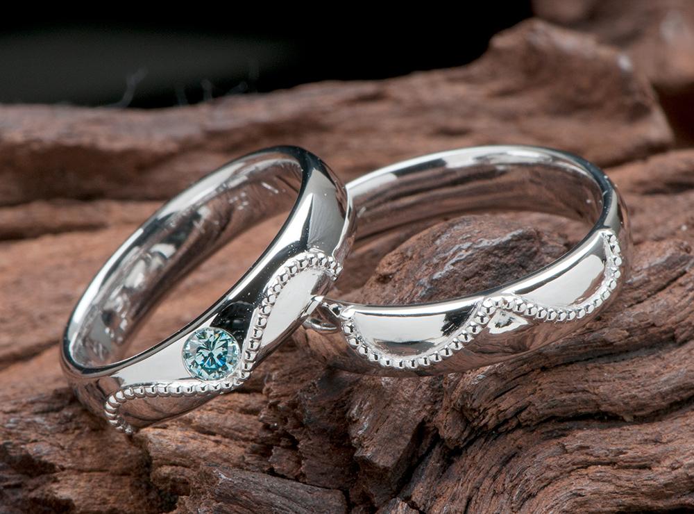 無限大マーク 結婚指輪オーダー