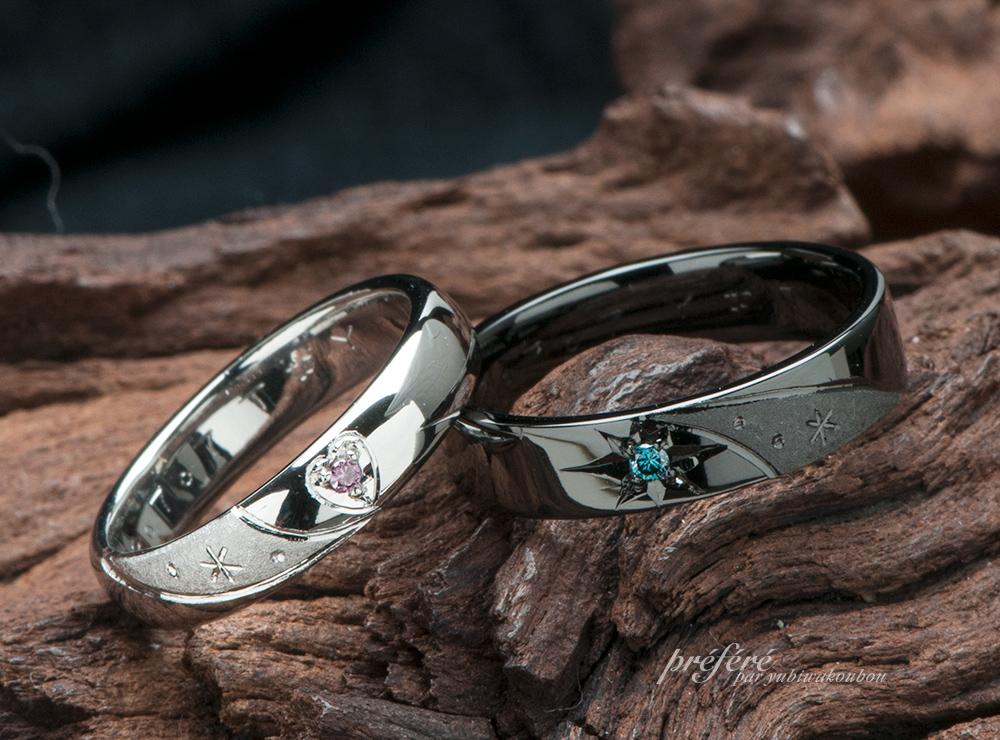 七夕 天の川 結婚指輪オーダー