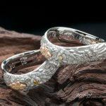 結婚指輪のオーダーはリアルな龍デザイン