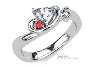 婚約指輪 CG