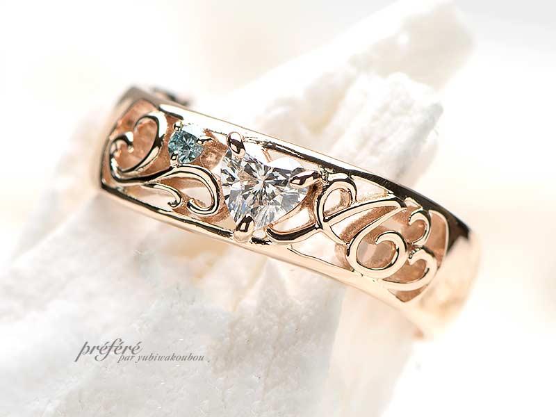 婚約指輪-6の写真