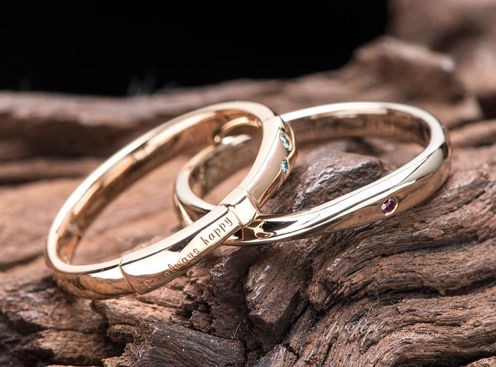 リボン 結婚指輪オーダー