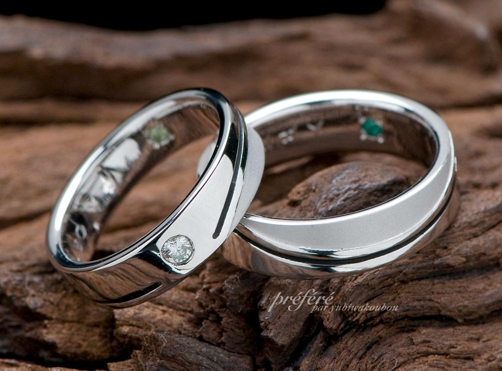 結婚10周年記念指輪オーダー