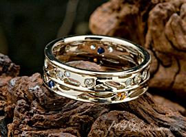 結婚10周年記念指輪 オーダーメイド