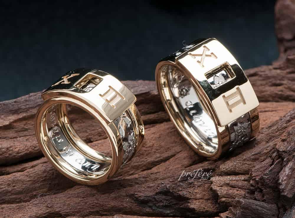 セットリング 結婚指輪, 桜 結婚指輪オーダー