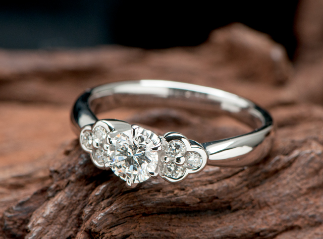 25年前の婚約指輪をリメイク 商品No.RE-195