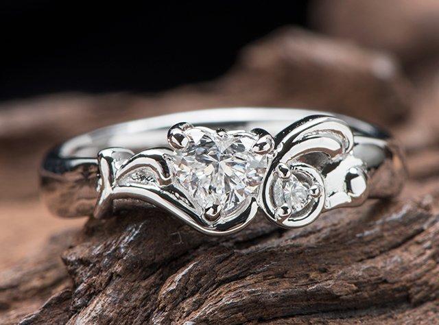 ウサギ 婚約指輪オーダーメイド