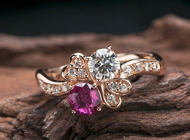 四つ葉 婚約指輪オーダー