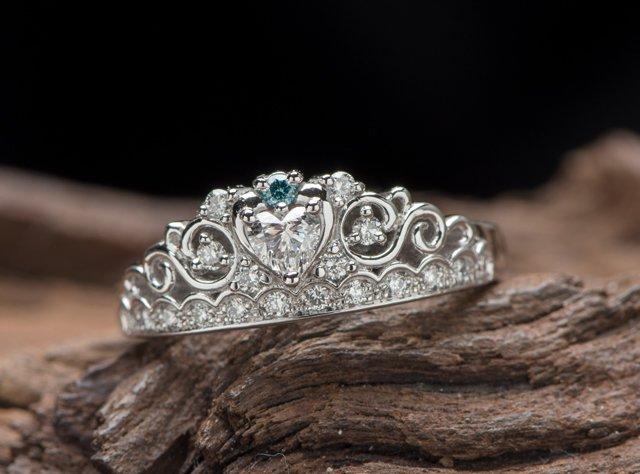 婚約指輪(ティアラ型リング)-4の写真