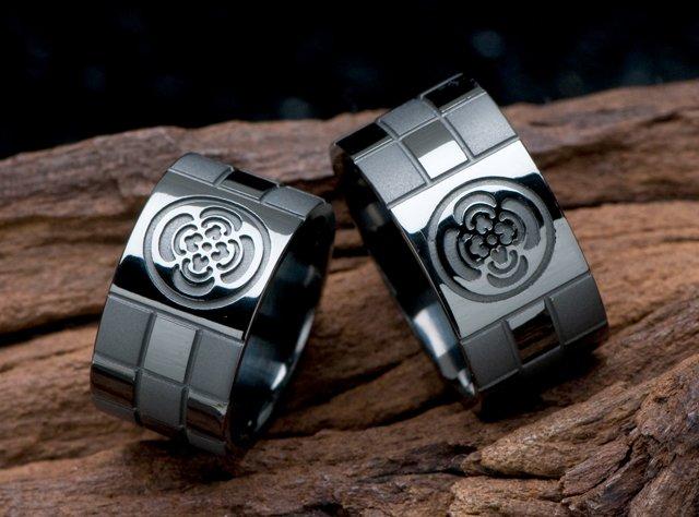 結婚指輪(ブラック仕上げ)-4の写真
